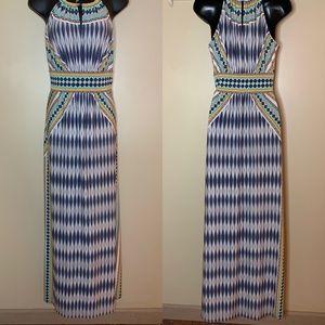 London Times Halter Maxi Dress
